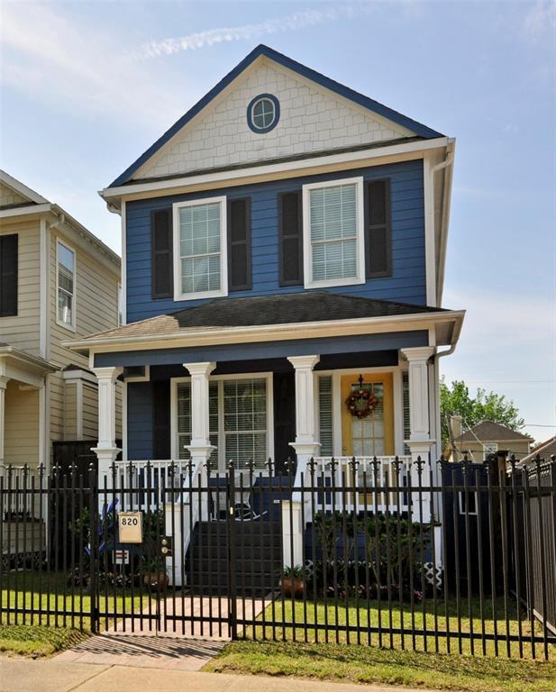 820 W 27th Street, Houston, TX 77008 (MLS #95924011) :: Texas Home Shop Realty