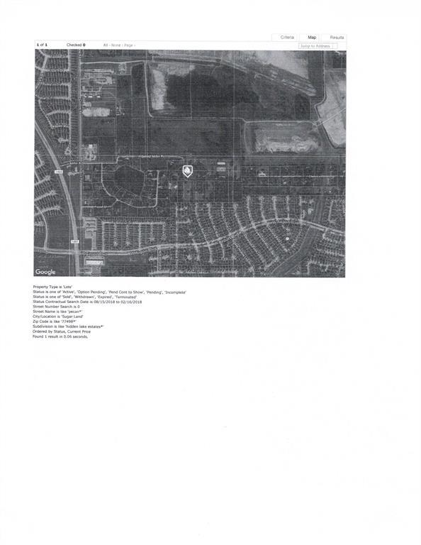 0 Pecan, Sugar Land, TX 77498 (MLS #97132911) :: Texas Home Shop Realty