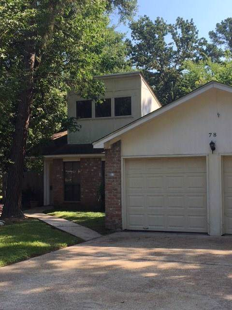 78 W White Willow Circle, The Woodlands, TX 77381 (MLS #97254192) :: Texas Home Shop Realty