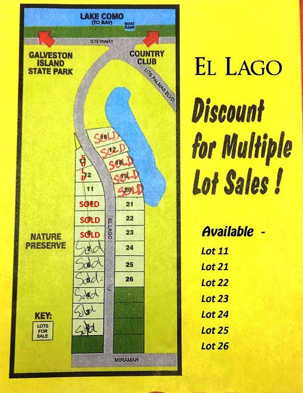 Lot 25 El Lago, Galveston, TX 77554 (MLS #52568517) :: Texas Home Shop Realty