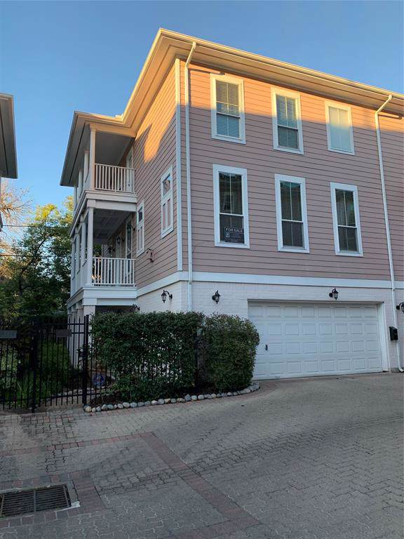 208 Hawthorne Street B, Houston, TX 77006 (MLS #56317717) :: Bay Area Elite Properties