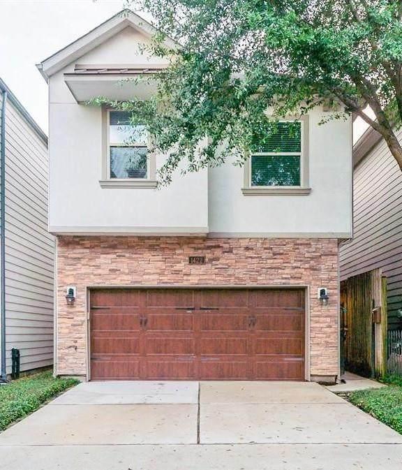1422 Dian Street, Houston, TX 77008 (MLS #87689131) :: Christy Buck Team