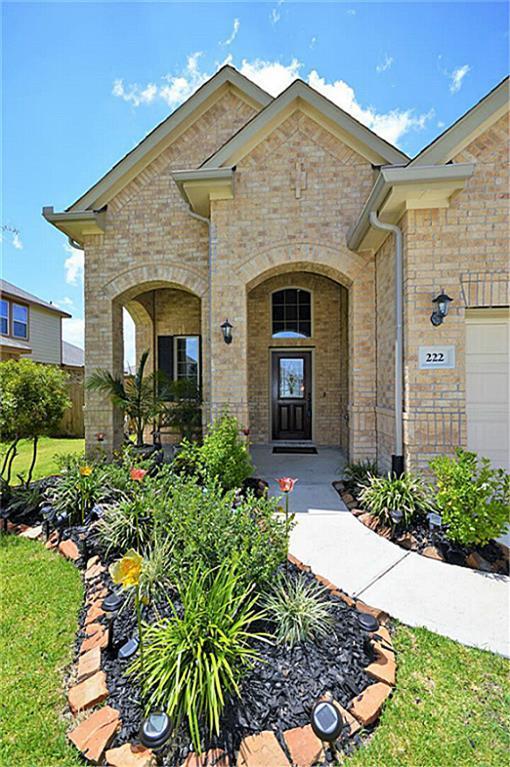 222 Harbor Bend Lane, Dickinson, TX 77539 (MLS #76308292) :: Texas Home Shop Realty