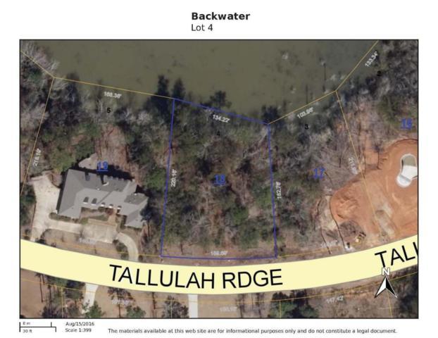 Lot 4 Tallulah Ridge, Hattiesburg, MS 39402 (MLS #111490) :: Dunbar Real Estate Inc.