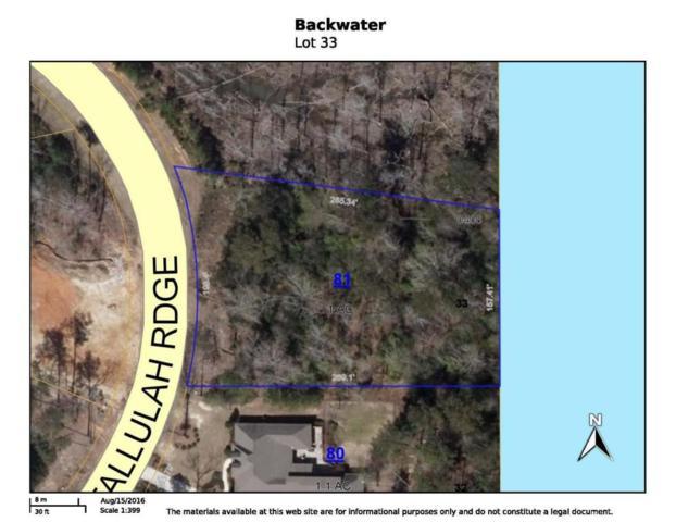 Lot 33 Tallulah Ridge, Hattiesburg, MS 39402 (MLS #111494) :: Dunbar Real Estate Inc.