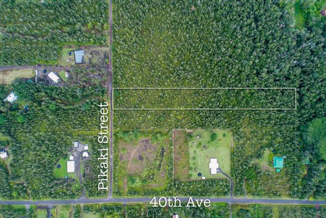 Pikake St, Keaau, HI 96749 (MLS #611748) :: Aloha Kona Realty, Inc.