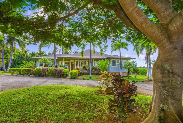 4699 Wailapa Road, Kilauea, HI 96754 (MLS #612124) :: Kauai Exclusive Realty