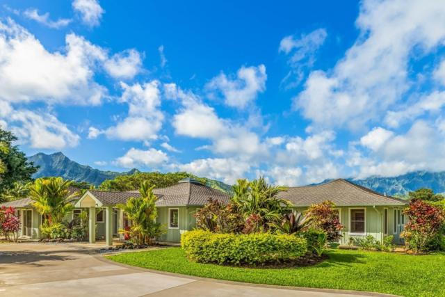 5678 Kahiliholo Road, Kilauea, HI 96754 (MLS #615922) :: Elite Pacific Properties
