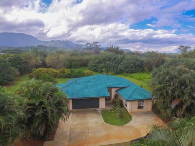 5630 Kahiliholo Rd, Kilauea, HI 96754 (MLS #616065) :: Kauai Real Estate Group