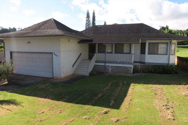 3607 Ala Loke Pl, Kalaheo, HI 96741 (MLS #616612) :: Kauai Exclusive Realty