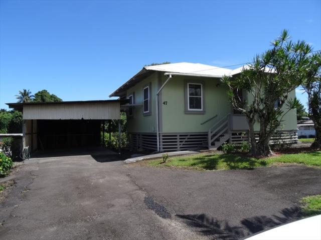 47 Kehaulani St, Hilo, HI 96720 (MLS #618515) :: Elite Pacific Properties