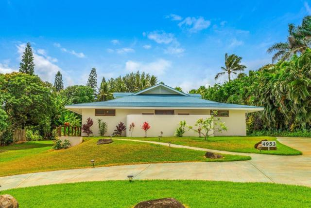 4953 Aliomanu Road, Anahola, HI 96703 (MLS #619421) :: Kauai Exclusive Realty