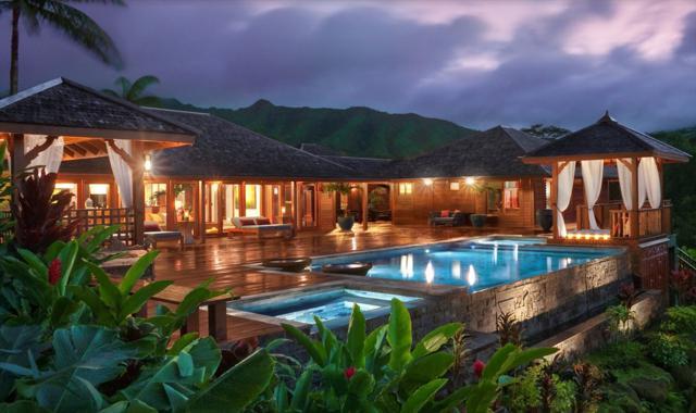 5880 Kahiliholo Rd, Kilauea, HI 96754 (MLS #620400) :: Elite Pacific Properties