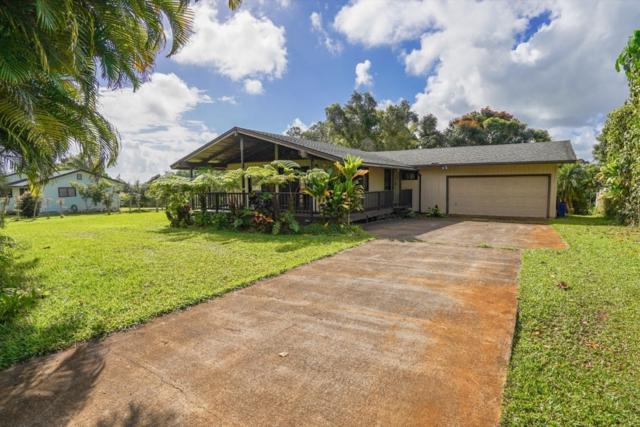 7009 Pomaikai St, Kapaa, HI 96746 (MLS #621301) :: Elite Pacific Properties