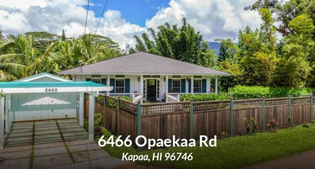 6466 Opaekaa Rd, Kapaa, HI 96746 (MLS #622174) :: Elite Pacific Properties