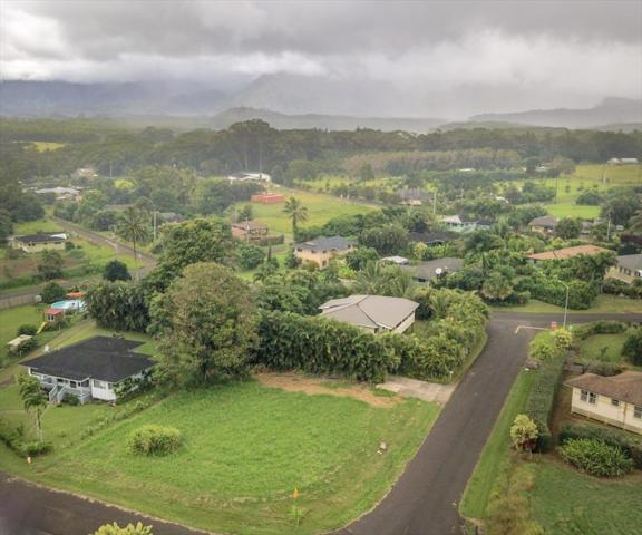 Huina St, Kapaa, HI 96746 (MLS #622197) :: Elite Pacific Properties