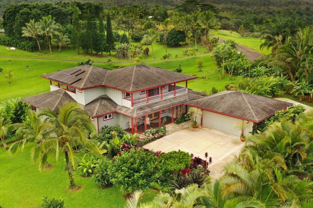6050 Halaulani Pl, Kilauea, HI 96754 (MLS #624135) :: Elite Pacific Properties