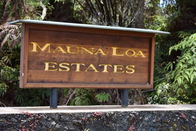 Second St, Volcano, HI 96785 (MLS #626069) :: Elite Pacific Properties