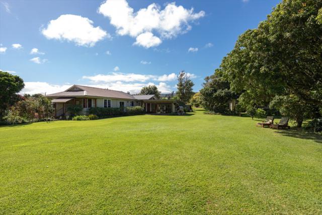 55-536 Hualua Rd, Hawi, HI 96719 (MLS #626577) :: Aloha Kona Realty, Inc.