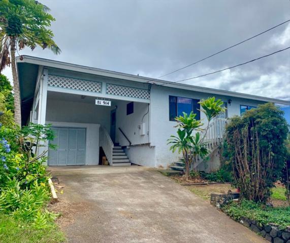81-914 Halekii St, Kealakekua, HI 96750 (MLS #626671) :: Aloha Kona Realty, Inc.