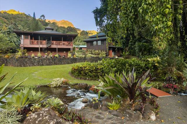 5121 Wainiha Powerhouse  Rd, Hanalei, HI 96722 (MLS #627912) :: Elite Pacific Properties
