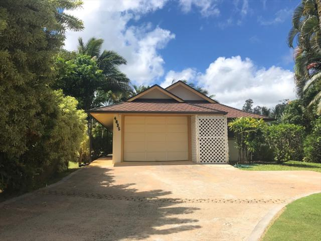 4835 Ou Pl, Princeville, HI 96722 (MLS #630540) :: Song Real Estate Team/Keller Williams Realty Kauai