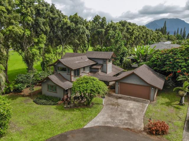 4031 Kaiana Pl, Princeville, HI 96722 (MLS #631245) :: Kauai Exclusive Realty