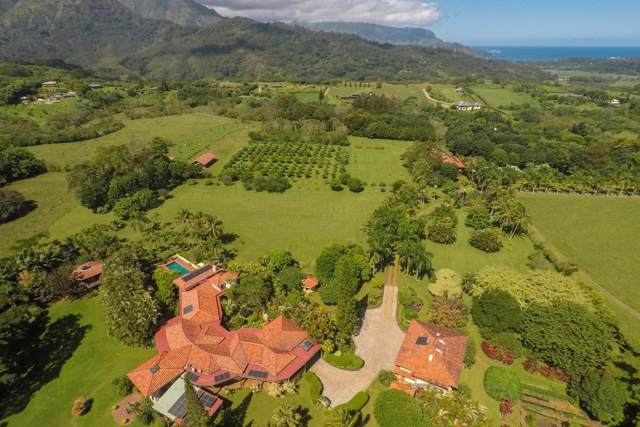 3787 Ahonui Place, Princeville, HI 96722 (MLS #632582) :: Song Team | LUVA Real Estate