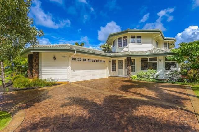 4025 Aloalii Dr, Princeville, HI 96722 (MLS #632591) :: Kauai Exclusive Realty