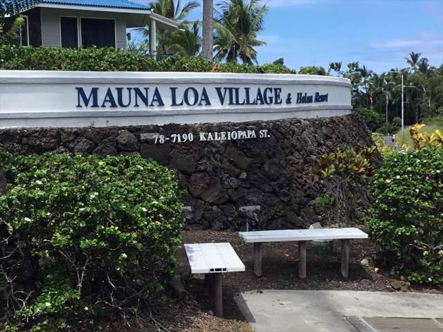 78-7190 Kaleiopapa Rd, Kailua-Kona, HI 96740 (MLS #632678) :: Song Real Estate Team | LUVA Real Estate