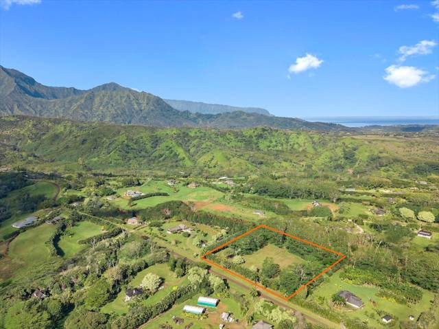2736 Halaulani Rd, Kilauea, HI 96754 (MLS #634694) :: Elite Pacific Properties