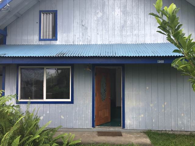 1500 Maunakai St, Hilo, HI 96720 (MLS #634823) :: Song Real Estate Team | LUVA Real Estate