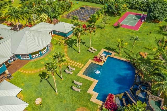 4791 Kahiliholo Rd, Kilauea, HI 96754 (MLS #636310) :: Steven Moody