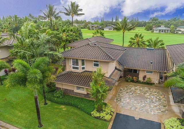 4100 Queen Emma Dr, Princeville, HI 96722 (MLS #638145) :: Team Lally