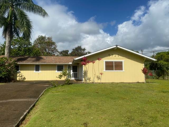 5721 Makamaka St, Kapaa, HI 96746 (MLS #639074) :: Kauai Exclusive Realty