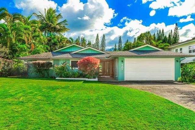 4167 Kalani Pl, Princeville, HI 96722 (MLS #639572) :: Elite Pacific Properties