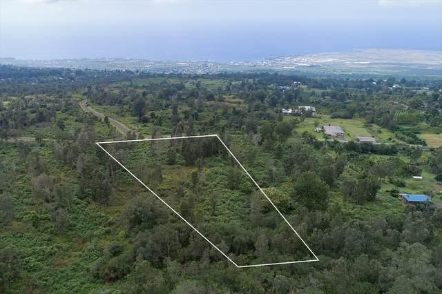 75-1265 Keopu Mauka Dr, Holualoa, HI 96725 (MLS #641861) :: LUVA Real Estate