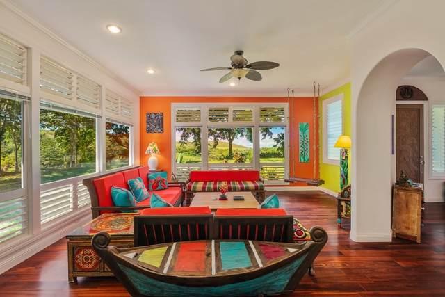 6213 Kahiliholo Rd, Unita, Kilauea, HI 96722 (MLS #642601) :: Corcoran Pacific Properties