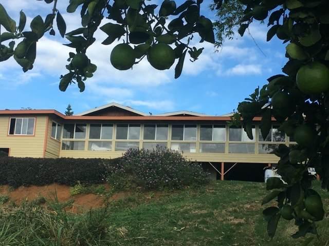 95-2844 Pohaku Rd, Naalehu, HI 96772 (MLS #642995) :: Corcoran Pacific Properties