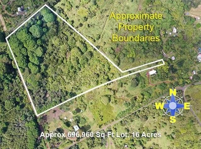 Middle Rd, Pahoa, HI 96778 (MLS #643054) :: Iokua Real Estate, Inc.