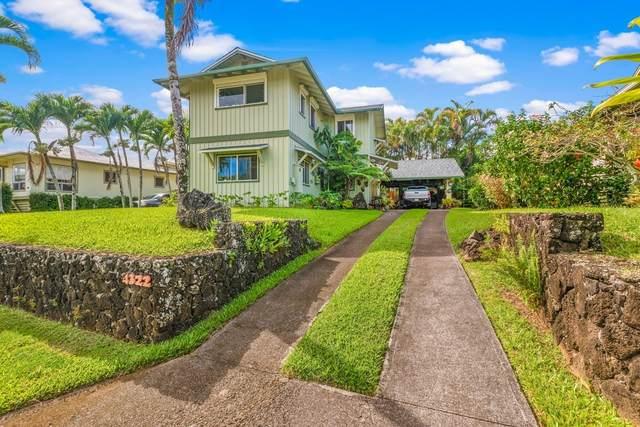 4322 Ulua St, Kilauea, HI 96754 (MLS #643705) :: Kauai Exclusive Realty