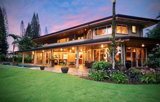 4184 Mahina Pl, Princeville, HI 96722 (MLS #644125) :: Corcoran Pacific Properties