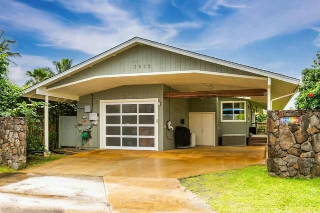 2319 Kamalii St, Kilauea, HI 96754 (MLS #644540) :: Aloha Kona Realty, Inc.