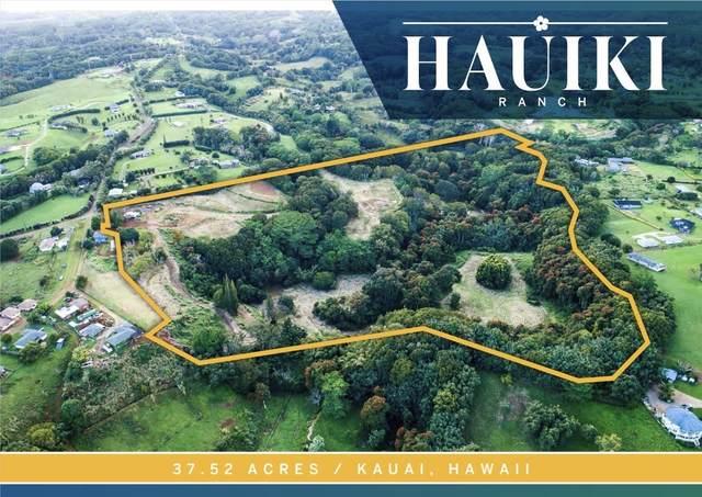 6200 Hauiki Rd, Kapaa, HI 96746 (MLS #646945) :: Corcoran Pacific Properties