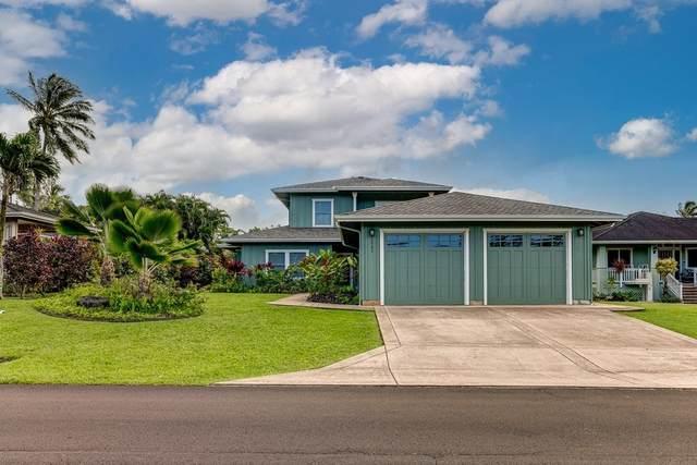 4962 Emmalani Dr, Princeville, HI 96722 (MLS #646955) :: LUVA Real Estate