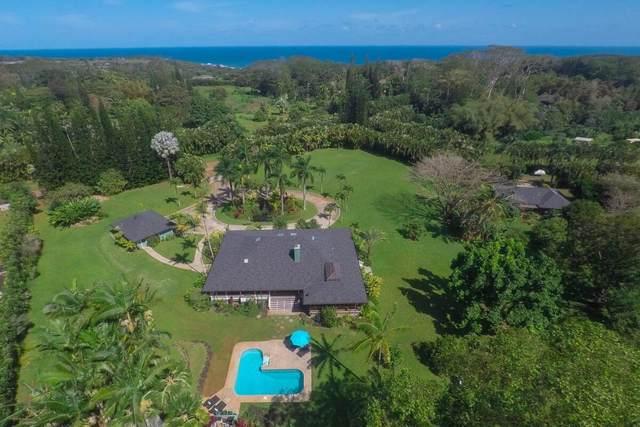 4711 Kahiliholo Rd, Kilauea, HI 96754 (MLS #648553) :: Kauai Exclusive Realty