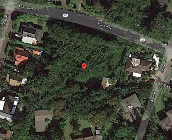 5-7165 Kuhio Hwy, Hanalei, HI 96722 (MLS #648959) :: Kauai Exclusive Realty