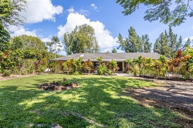 6420 Kawaihau Rd, Kapaa, HI 96746 (MLS #649337) :: Steven Moody