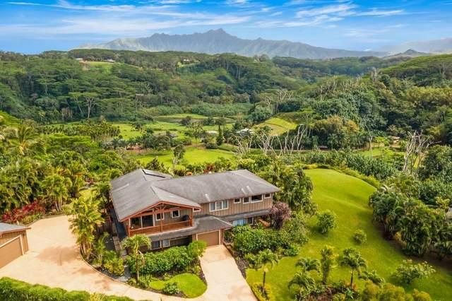 3275 Kalihiwai Rd, Kilauea, HI 96754 (MLS #649348) :: Team Lally