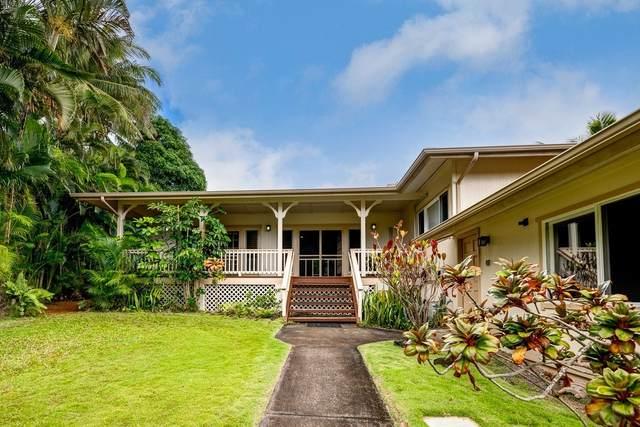 3834 Haulani Pl, Princeville, HI 96722 (MLS #650266) :: Iokua Real Estate, Inc.
